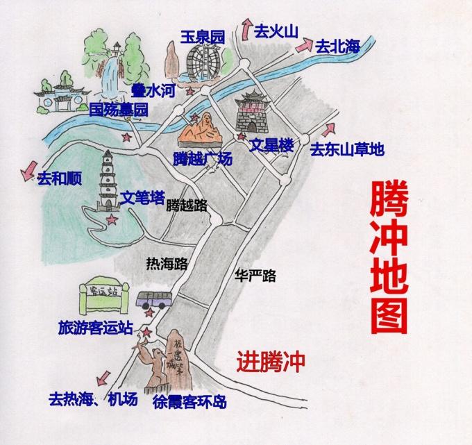 (附8条路线推荐+纯手绘地图)