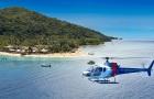 斐济直升机观光游(俯瞰斐济美丽群岛 可选20分钟/30分钟)