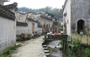 【呈坎图片】【徽州】天上水街——灵山古村
