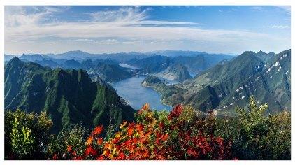 铁刹山 是国家名胜风景区,国家aa级森林公园.