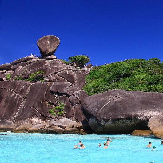 泰国普吉岛斯米兰岛快艇出海一日游
