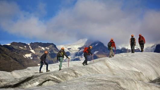 冰川徒步终极体验 冰岛索尔黑马冰川徒步
