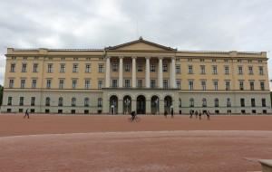 【挪威图片】北欧挪威游之...挪威皇宫周边风景区实拍