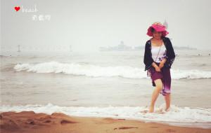 【南戴河图片】又是那片海——光着脚丫去踩沙