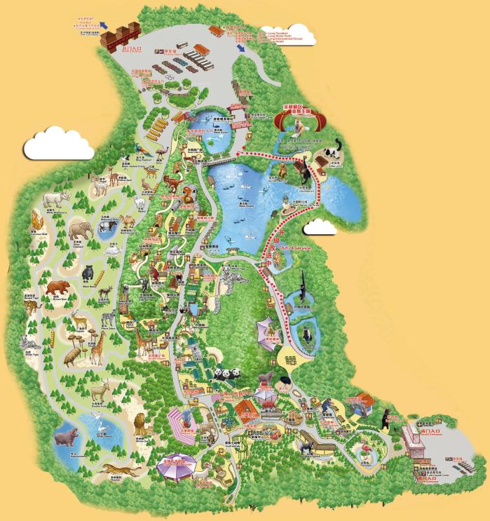 去广州长隆野生动物园坐车路线