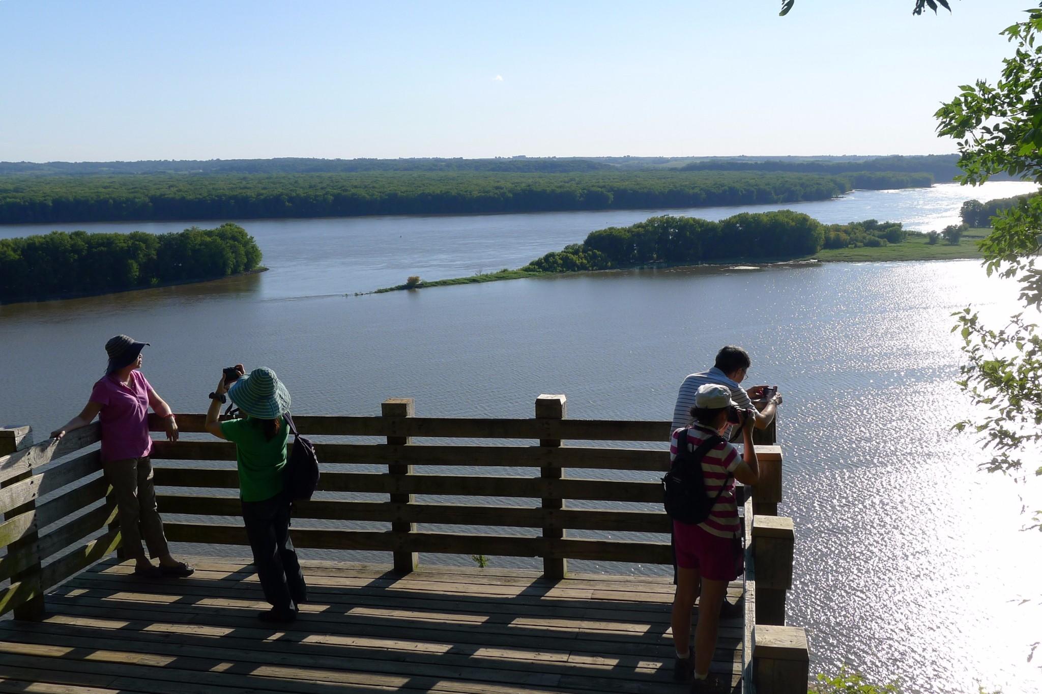 那年,我们跟着龙颖,环游美加(十二) 密西西比Mississippi——美国的母亲河