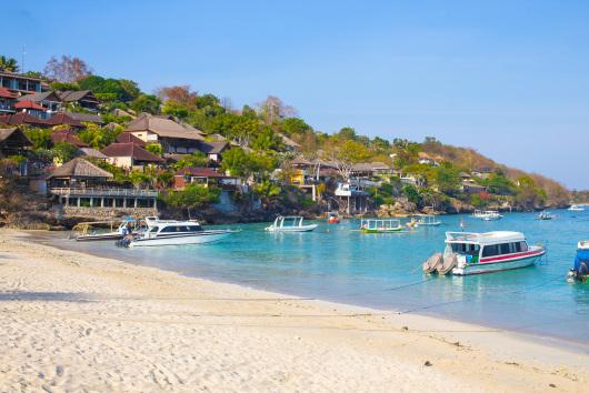 【巴厘岛出发】巴厘岛东南边蓝梦岛双体帆船一日游