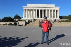 北美之旅...华盛顿林肯纪念堂风景区实拍