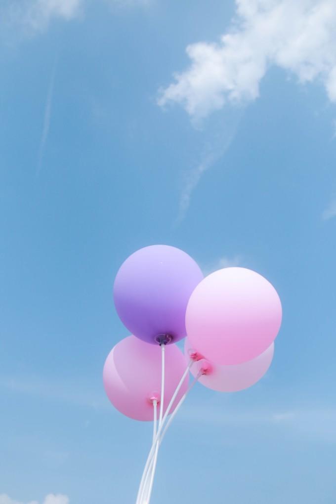 一根长气球造型图解心