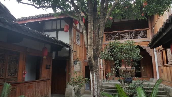 阆中农村老房子