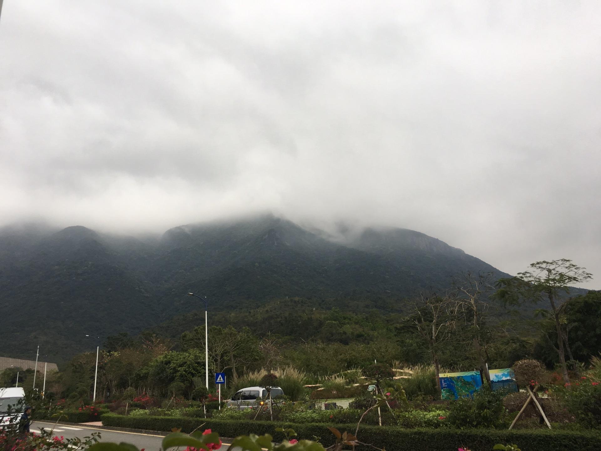 徒步深圳七娘山自助游攻略