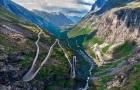 挪威 盖朗厄尔峡湾套票-奥勒松往返  (老鹰之路+精灵之路)