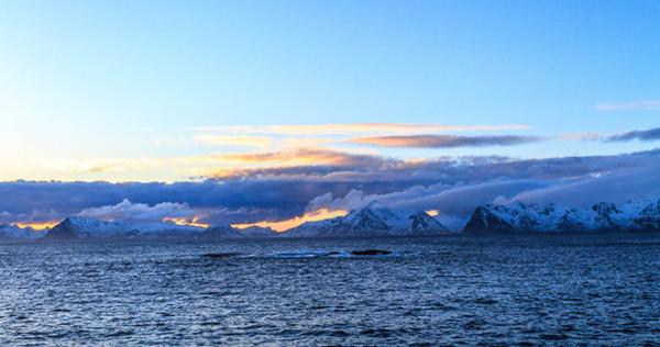 北极圈里,陆地尽头