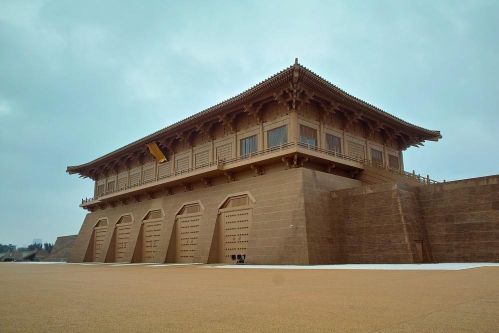 china Xian ming dynasty palace heritage