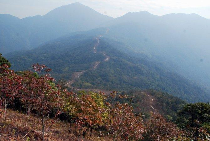 """徒步穿越深圳最难路线之""""三水线""""——三水线攻略"""