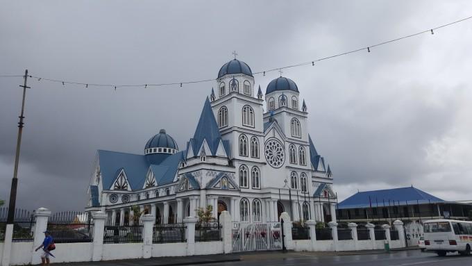 大洋洲 萨摩亚独立国首都 阿皮亚市 - 西部落叶 - 《西部落叶》· 余文博客