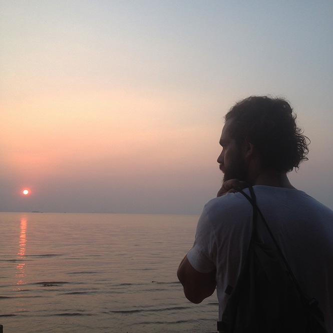 今年冬天,贡布的海